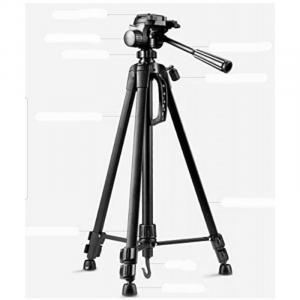 WT3520 Aluminum Alloy Foldable Protable Photography Tripod for Camera DV Camcorder