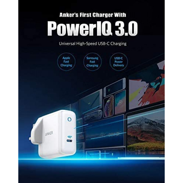Anker PowerCore  26800 PD 45W with 60W PD Charger, Power Delivery Portable Charger Bundle for USB C Laptops