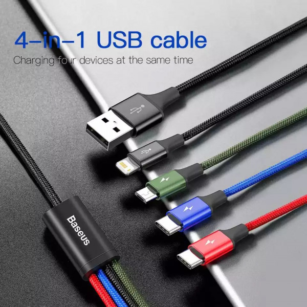 Baseus 4in1 cable