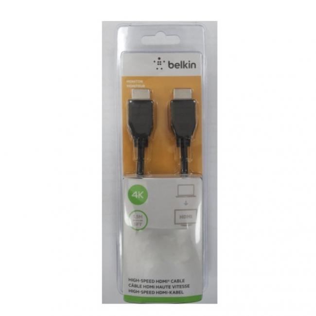 Belkin High-Speed Standard HDMI Cable 4K Ultra HD 1.5M (5FT)