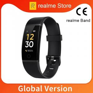 realme Band Smart Bracelet Large Color Screen band Smartband Real-time Heart Rate Bluetooth 4.2 Sport IP68 Waterproof Smart Band