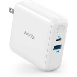 Anker PowerCore Fusion 5000 PD, 18W USB-C Portable Charger 2-in-1 with Power Delivery Wall Charger