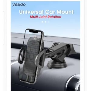 Yesido C111 Windshield / Dashboard Stretchable Flexible Arm Car Suction Cup Mobile Phone Holder