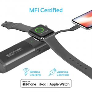 AuraWatch-1 Ultra-Compact 6700mAh Power Pack for Apple Watch & iPhone