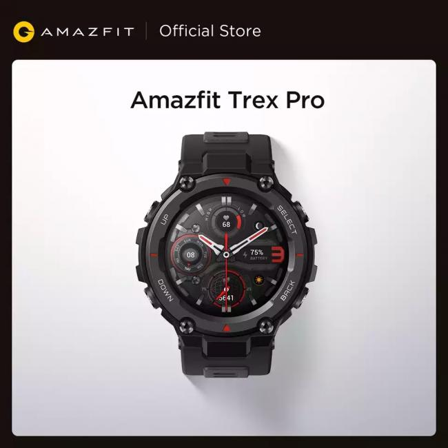 Amazfit T-rex Trex Pro T Rex GPS Outdoor Smartwatch Waterproof 18-day Battery Life 390mAh Smart Watch For Android iOS Phone