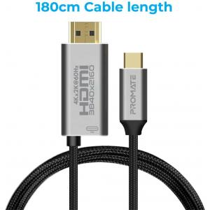PROMATE USB-C TO HDMI AUDIO VIDEO CABLE