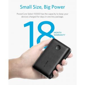 Anker PowerCore Select 10000mah Portable Powerbank With Dual 12W Output Ports