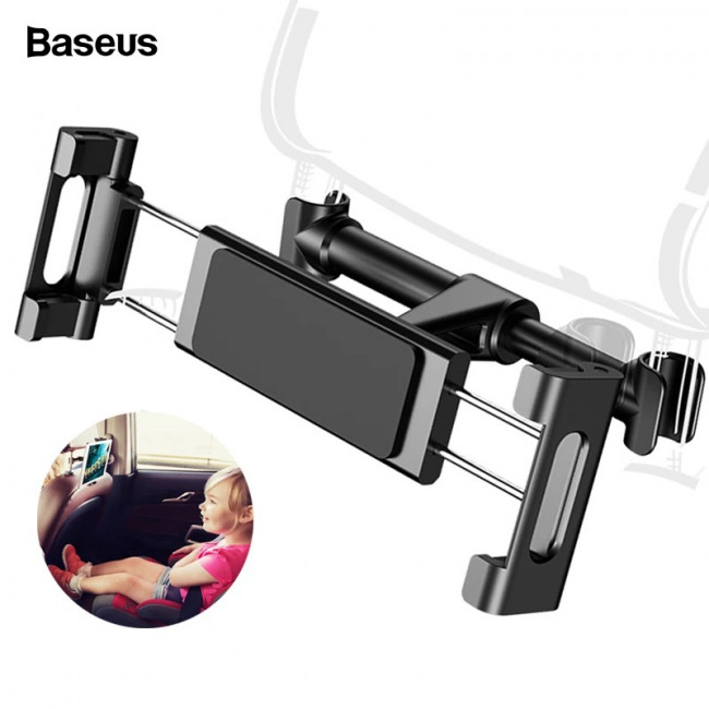Baseus Back seat Mount Tablet Car Holder 4.7-12.9inch - Black