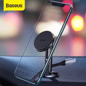 Baseus Hollow Magnetic Car Mount Holder with Clamping Function (Vertical Type)