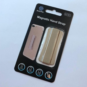 Magnetic hand strap gold