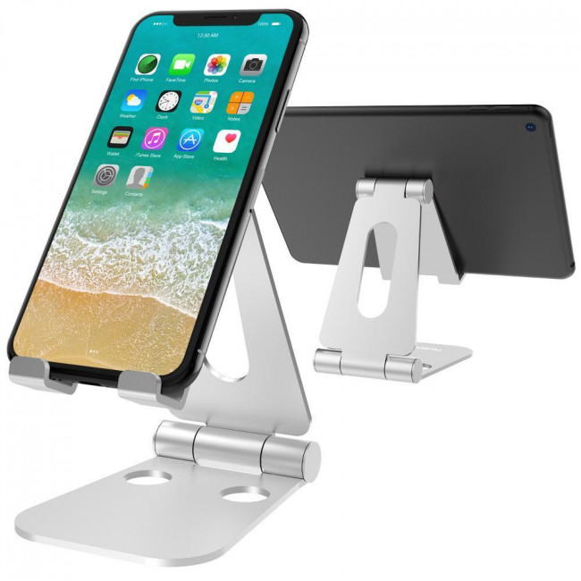 PORTABLE PHONE STAND -ALUMINUM ADJUSTABLE