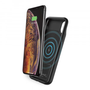 Porodo Wireless Battery Case 4500mAh for iPhone Xs Max - Black