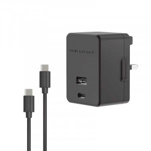 Powerology Dual Port Ultra-Quick Pd Charger