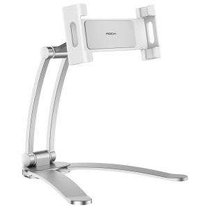 Rock PHONE TABLET STAND 4.5-10.5inc - silver