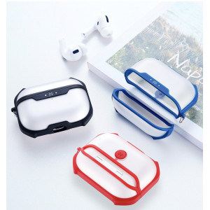 Xundd Earphone Case For Apple AirPods Pro Case Wireless Bluetooth Transparent Case Protective For Airpod 3 Dust Guard Cover